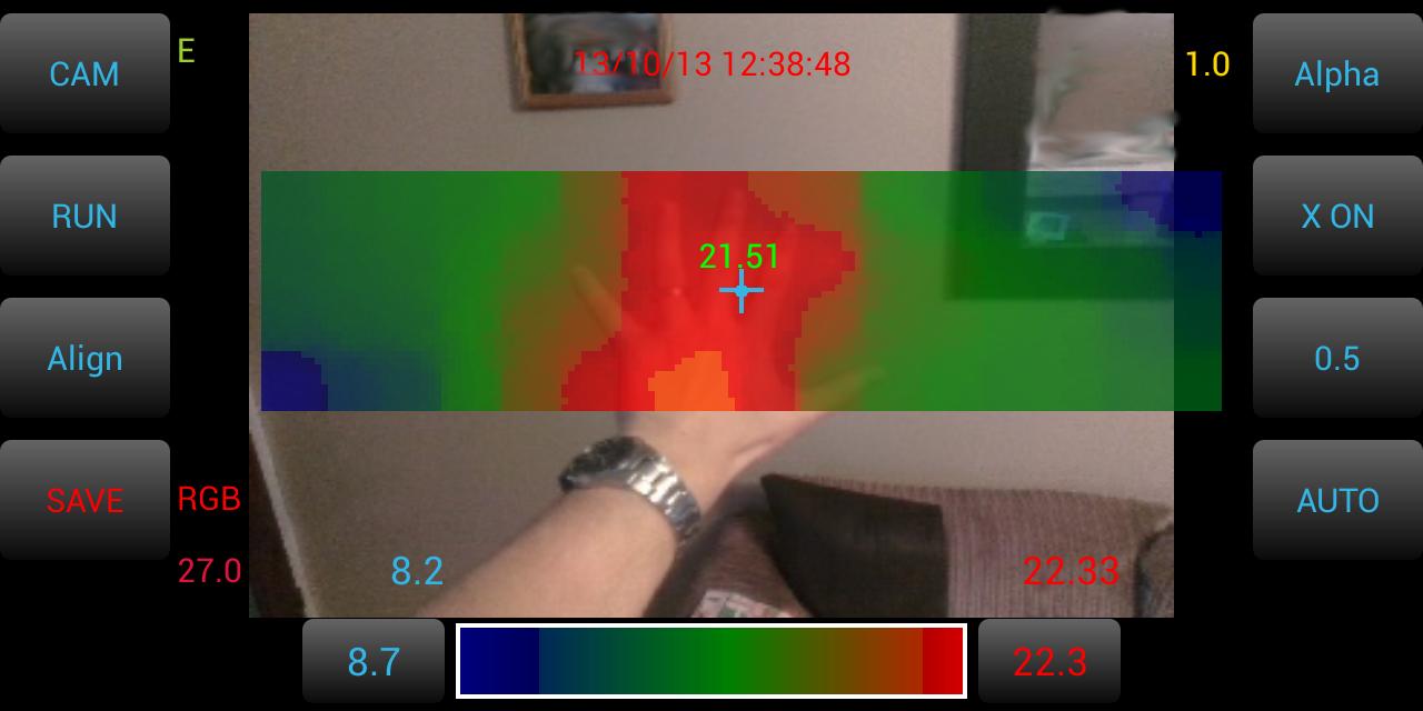 IR Blue – Cheap Open Source Thermal Imaging | Pentura Labs's